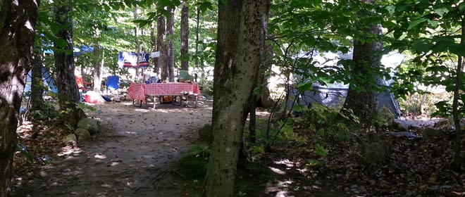 Campground Dining