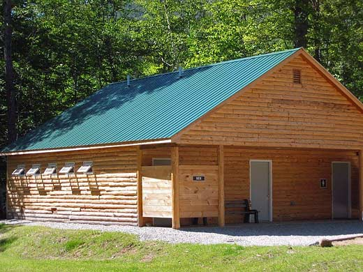 Crawford Notch Campground Bath House