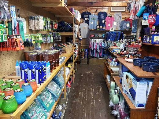 Crawford Notch Campground General Store inside