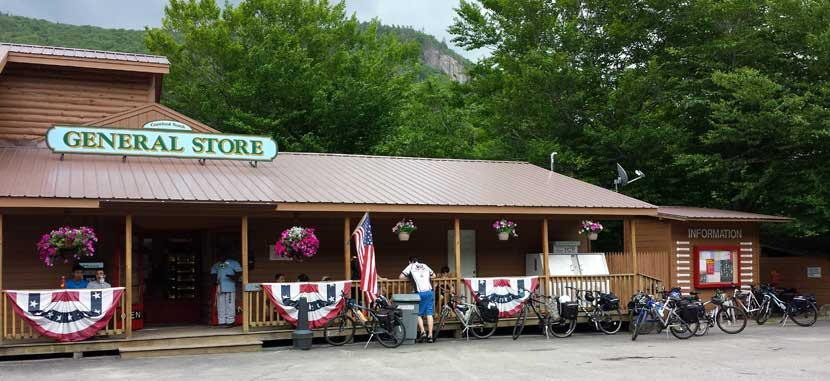 General Store at Crawford Notch Campground